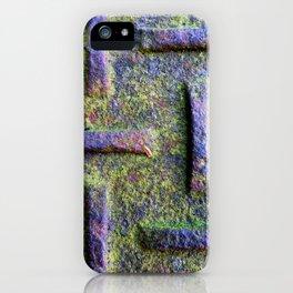 Moss Emboss iPhone Case