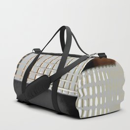 Morphed Portrait of an Electric Bass Duffle Bag
