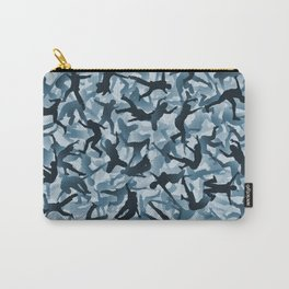 Falling humans camouflage Carry-All Pouch