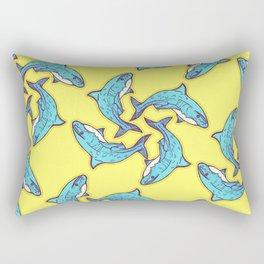 Sad Shark Rectangular Pillow