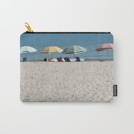 Bald Head Island Beach Umbrellas | Bald Head Island, North Carolina Carry-All Pouch