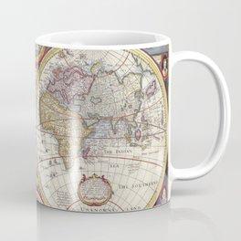Vintage Map with Stars Coffee Mug