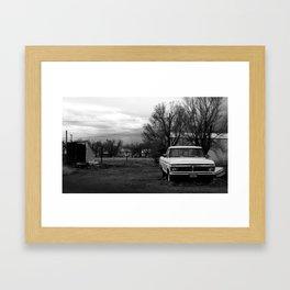 ford. Framed Art Print