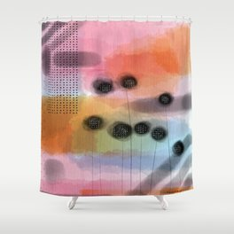 Pink Retreat Shower Curtain