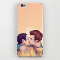 klaine iPhone & iPod Skins featuring Klaine Engagement by Mikaoru