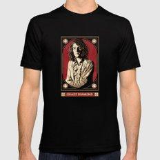 Syd Barrett/Crazy Diamond MEDIUM Black Mens Fitted Tee