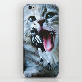 AC/DC/CAT iPhone Skin