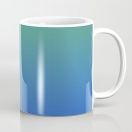 RESTING STATE - Minimal Plain Soft Mood Color Blend Prints Coffee Mug