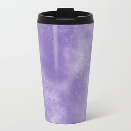 Abstract Watercolor in Ultra Violet Pantone color of year 2018 Travel Mug