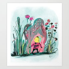 Tiny Adventurer Art Print