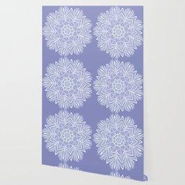 Violet Bloom Crown Chakra Wallpaper