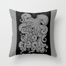 Octopus Throw Pillow