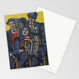 The Three Musicians by Fernand Léger Stationery Cards