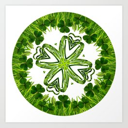 Greenery No. 3 Art Print