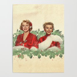Sisters - A Merry White Christmas Poster