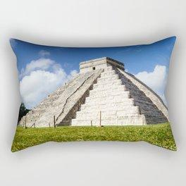 Chichen Itza Yucatan Mexico Rectangular Pillow