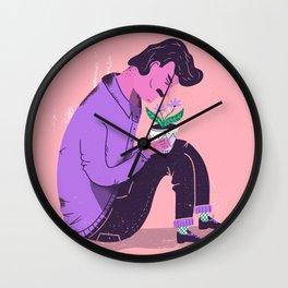 New plant Wall Clock