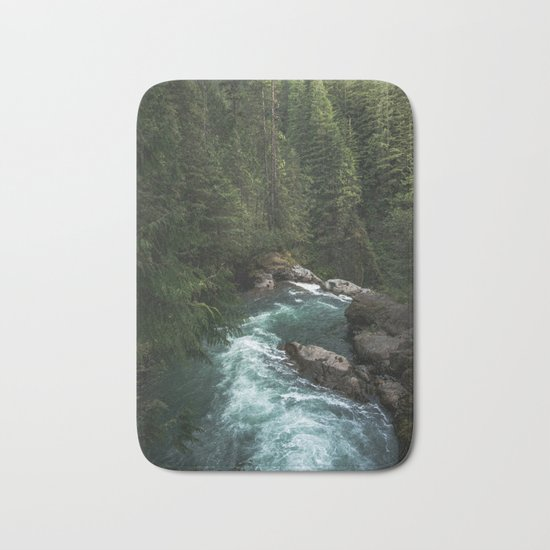 The Lost River - Pacific Northwest Bath Mat