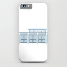 Dodger Stadium Left Field Gates iPhone Case