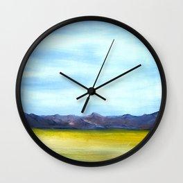 West Texas Landscape Wall Clock