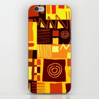 african iPhone & iPod Skins featuring African feel by clemm