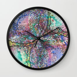 Stain 17 Wall Clock