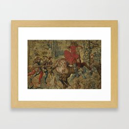 Hunt of Maximilian 2 Framed Art Print