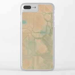 future fantasy steppe Clear iPhone Case