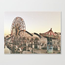 Mickey Wheel Canvas Print