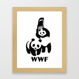 WWF Framed Art Print