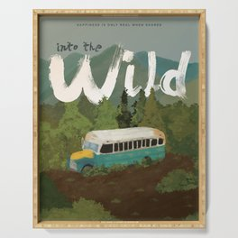 Into the Wild Serving Tray