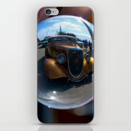classic in a crystal iPhone Skin