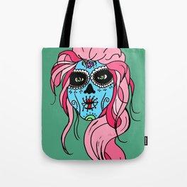 Pastel Sugar Skull Tote Bag