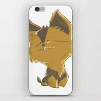 terrier iPhone & iPod Skins featuring Terrier by thinkgabriel