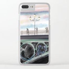 Puente de Triana.Sevilla Clear iPhone Case