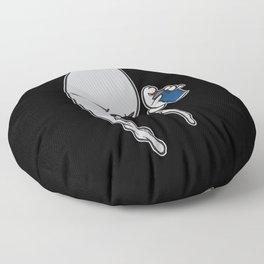 Spraycan Floor Pillow