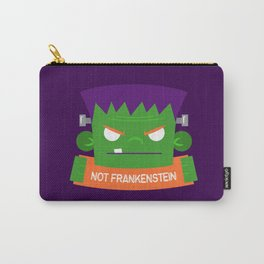 Frankenstein's Monster is NOT Frakenstein Halloween Carry-All Pouch