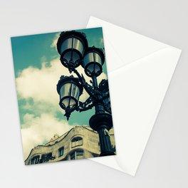 Aqua Lights Stationery Cards