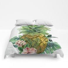 Tropical Pineapple Comforters