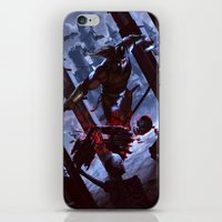 castlevania iPhone & iPod Skins featuring Castlevania by ImmarArt