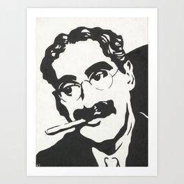 Mr. Marx Acrylic Pop Art Art Print