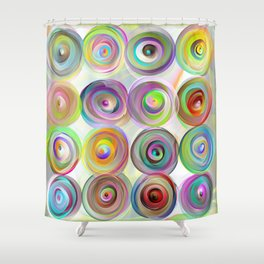 Cappelli colorati .. Shower Curtain