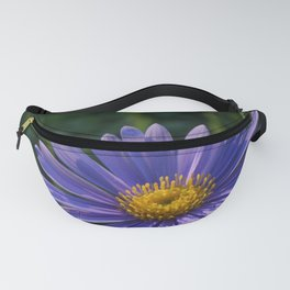 Blue Aster Fanny Pack