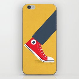 Awful Lot of Running – Red iPhone Skin