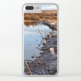 Ox Bow Bend Clear iPhone Case