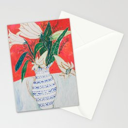 Easter Lily Bouquet Stationery Cards