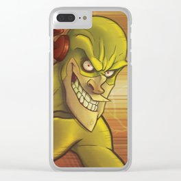The Reverse Flash Clear iPhone Case