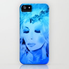 Joni Another Blue iPhone Case