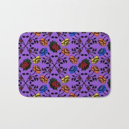 Rose pattern No.5 Bath Mat
