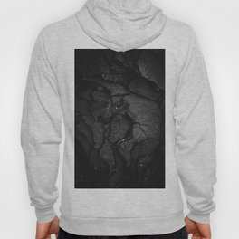 Black Texture (Black and White) Hoody